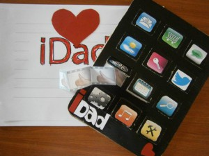 I-pad I dad I love dad