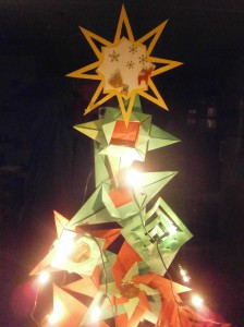 Star on tree