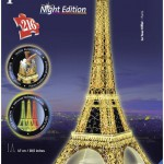 Eiffel Tower-Night Edition - 3D puzzle