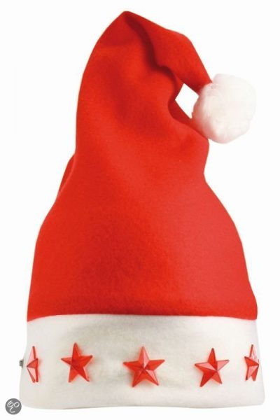 Benza Santa hat with lights, LED
