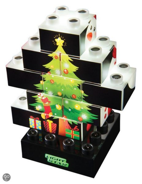 Light stax Christmas puzzle, Light Stax Kerstmis Puzzel