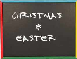 Christmas and easter DIY themes