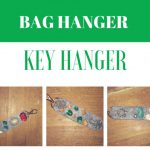 Key hanger, Bag hanger, DIY