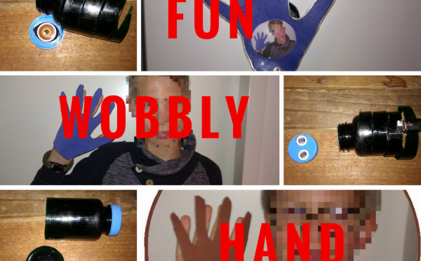 Kids Art Manual Fun Wobbly Hand