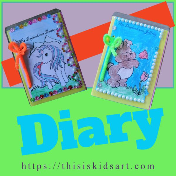 Diary booklet