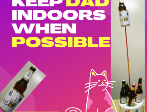 Keep Dad Indoors DIY Gift Fathers day